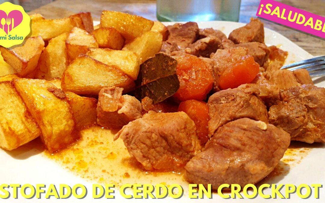 estofado de cerdo en olla lenta crockpot o crock pot