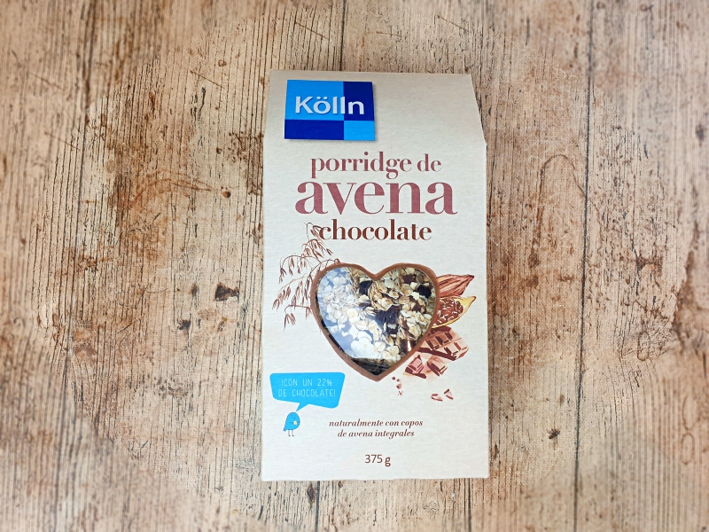 Porridge de avena Kolln. Unboxing Degustabox diciembre 2020
