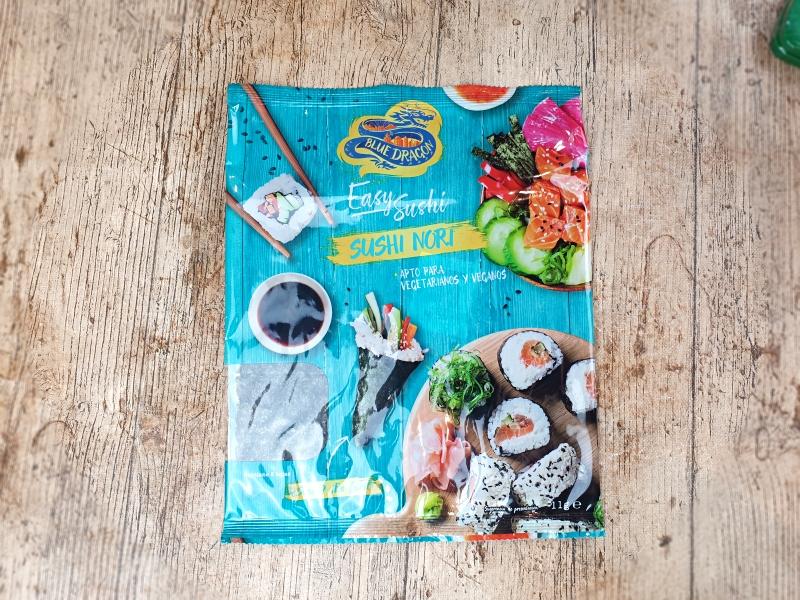 alga nori easy sushi. Degustabox diciembre 2020