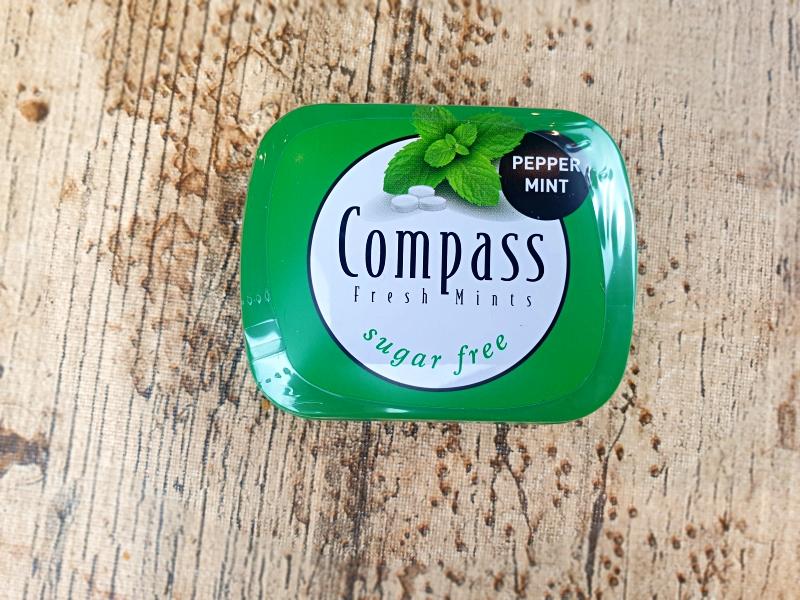 caramelos peppermint compass. Unboxing Degustabox diciembre 2020