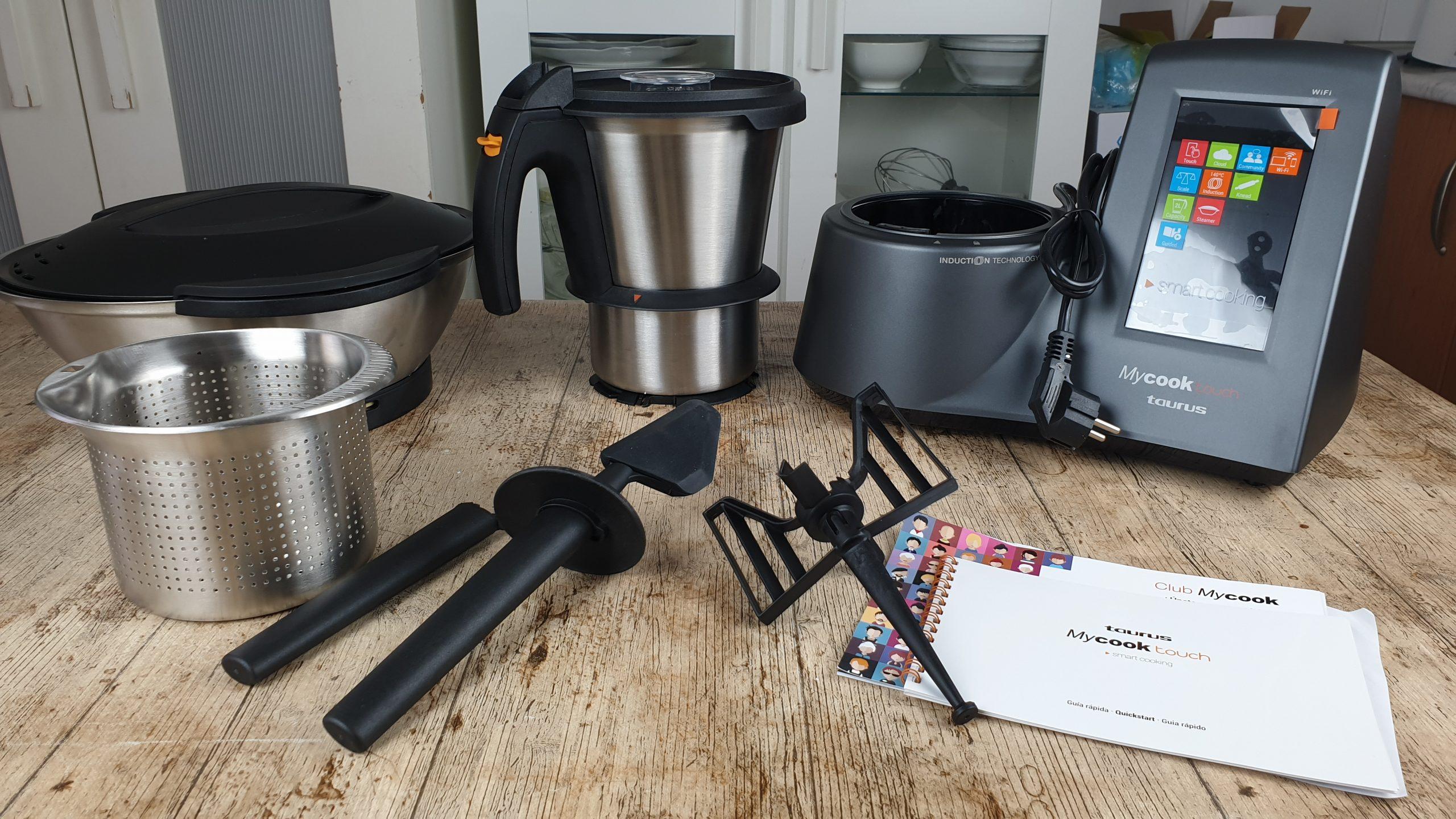 robot de cocina mycook touch de taurus